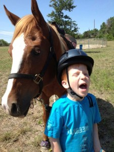child_and_horse